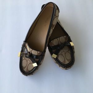 Coach Frida Monogram Loafers
